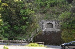 排水トンネル工